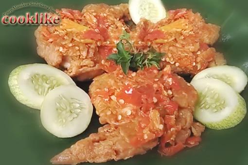 Cara Membuat Ayam Geprek Pedas