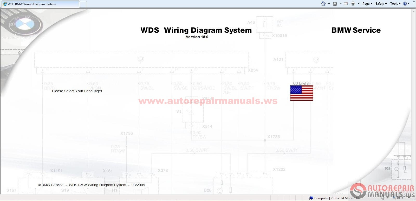 Freeautoepcservice  Bmw Wds V15 And Mini Wds V7 Wiring