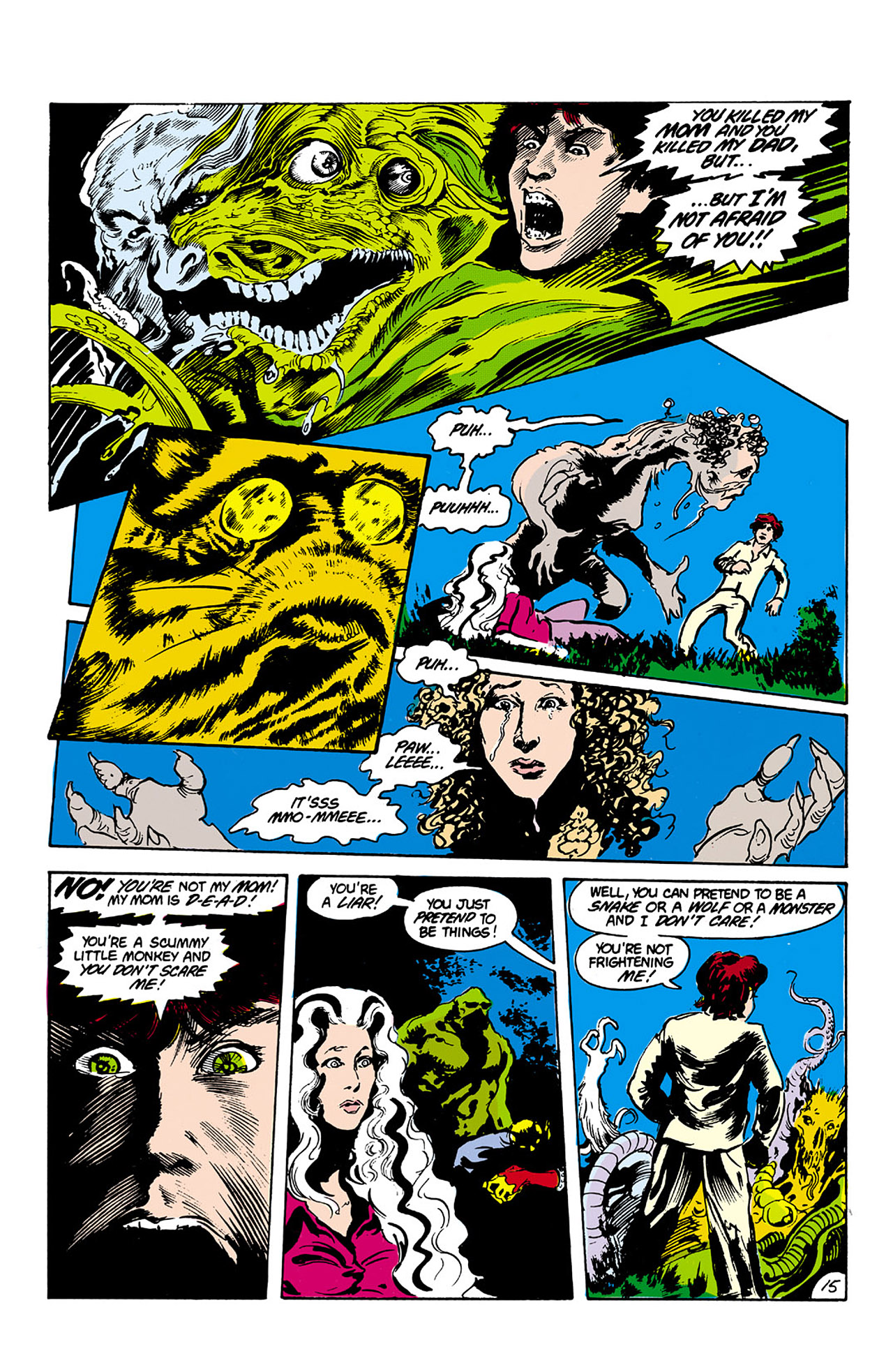 Swamp Thing (1982) Issue #27 #35 - English 15