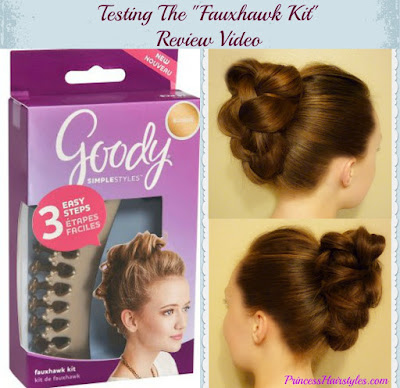 Faux Hawk Kit Review and First Impression Video #fauxhawk #hairstyle