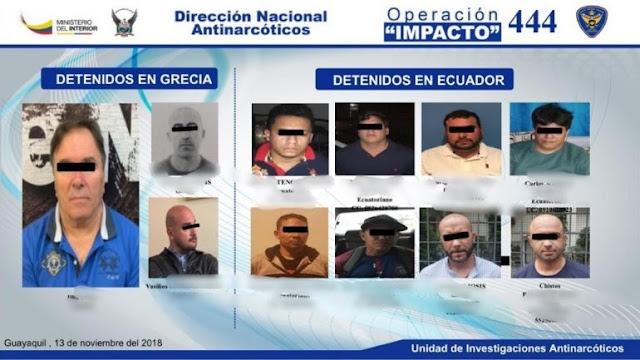 Ilia Petro Papa is the Albanian head of Ecuador cocaine gang