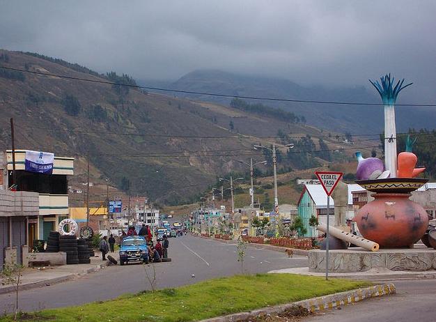 También hay Cajabamba en Ecuador