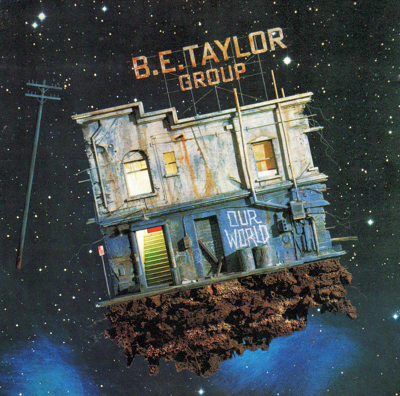 BE Taylor group Our world 1986 aor melodic rock