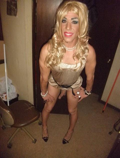 Naked blonde hairy