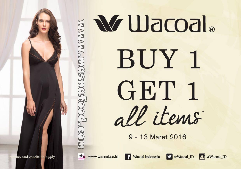 PROMO Wacoal Buy 1 Get 1 Di Matahari Dept Store