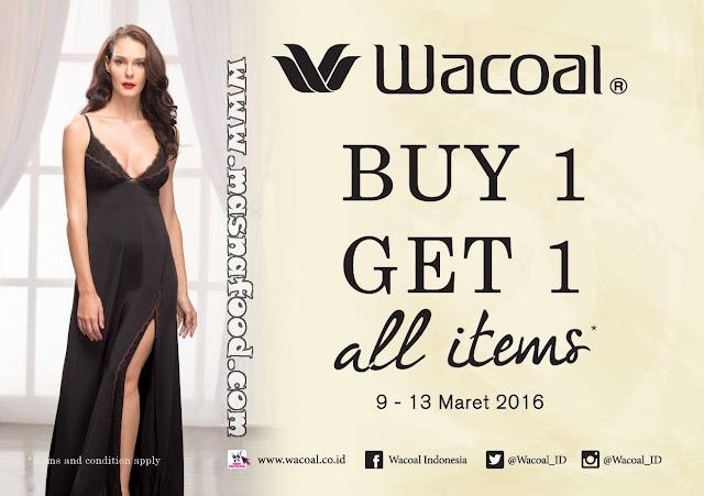 [PROMO] Wacoal Buy 1 Get 1 di Matahari Dept Store