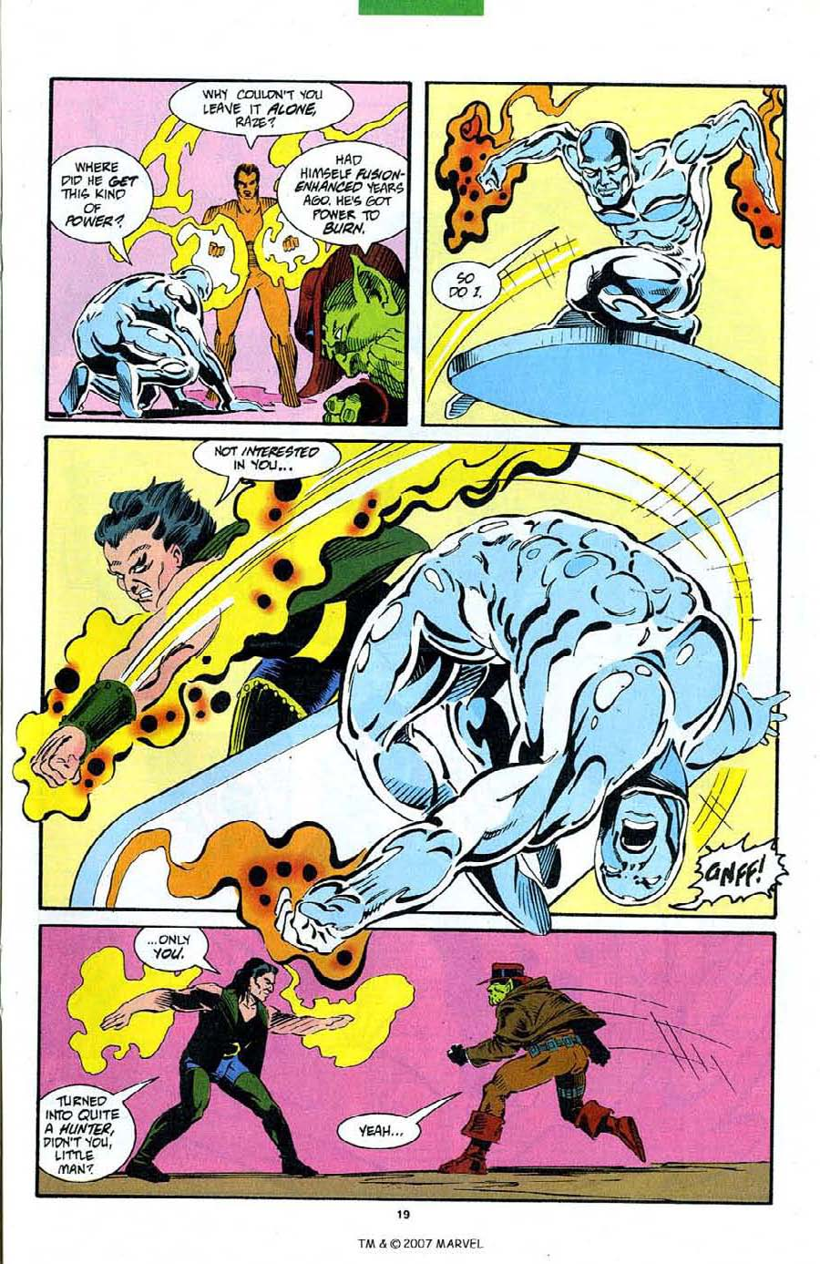 Read online Silver Surfer (1987) comic -  Issue #89 - 21