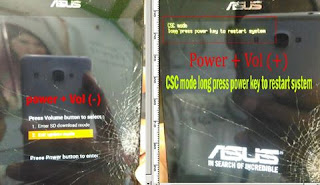 Flash Asus Zenfone 5  tanpa PC