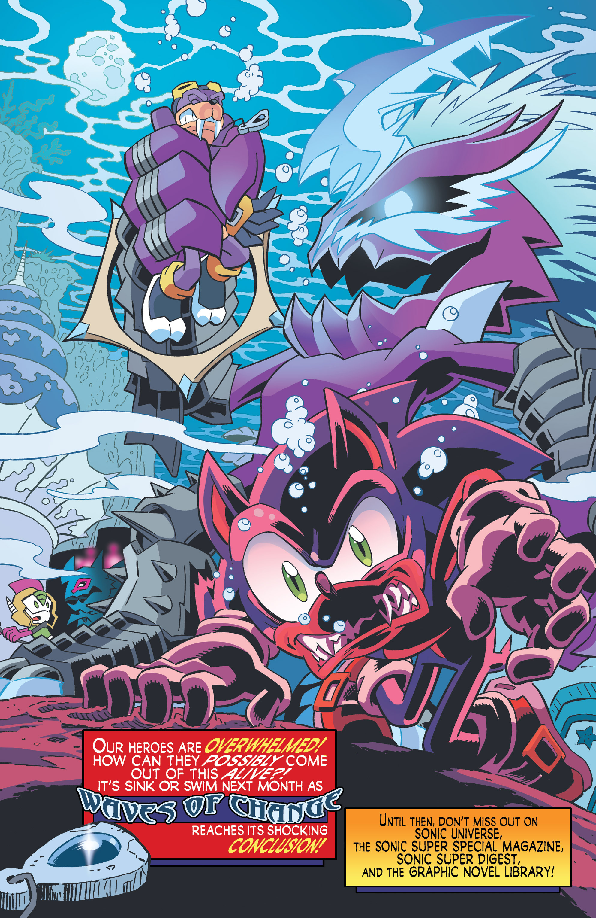 Read online Sonic The Hedgehog comic -  Issue #262 - 17