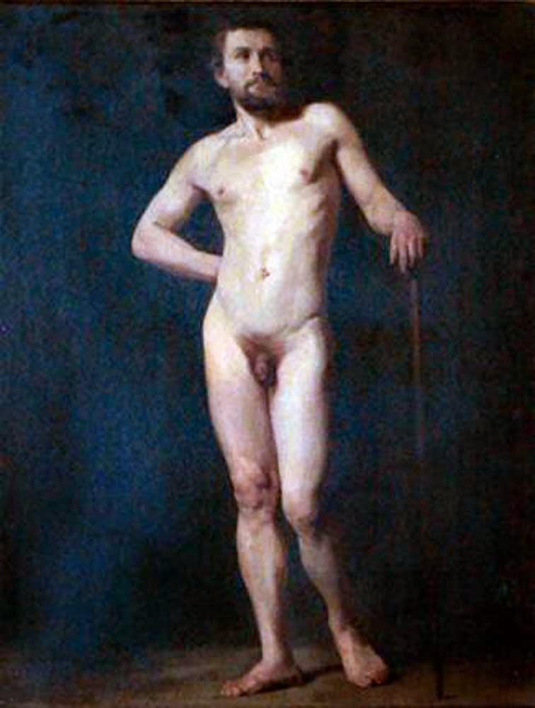 Jules-Eugène Lenepveu, Il nude in arte, Artistic Nude