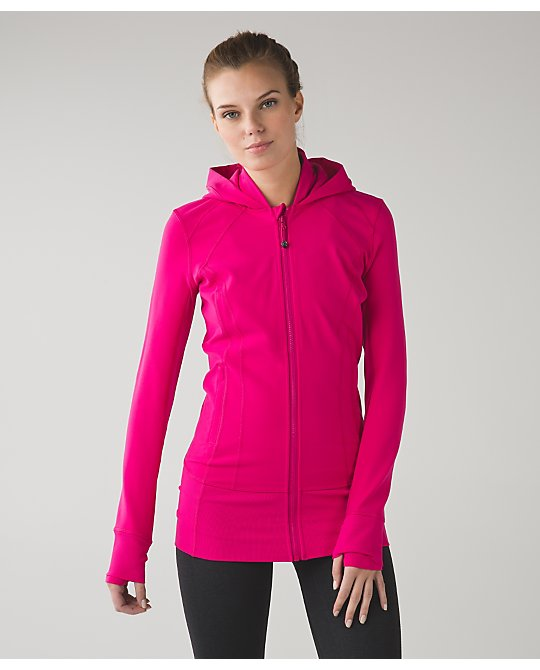 lululemon daily-practice-jacket jeweled-magenta