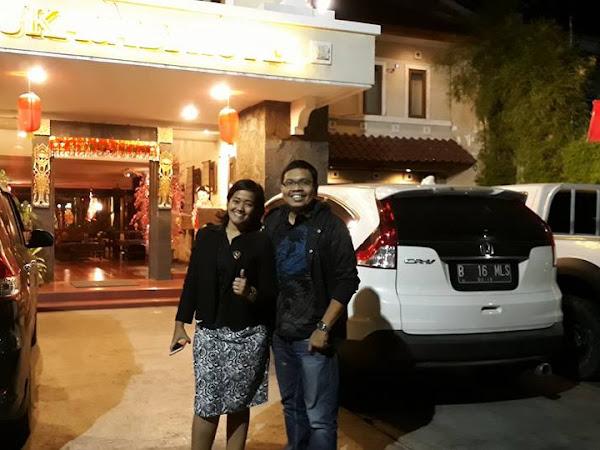 Menikmati Bandung dari Hotel  Sukajadi.