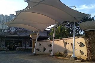 tenda membrane parkiran