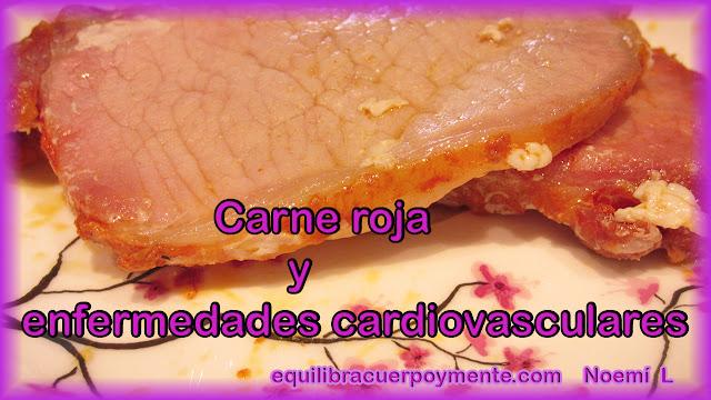 Carne roja y enfermedades cardiovasculares