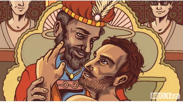 Homosexual Samesex Gay King Mahmud of Ghaznavi Mali Ayaz Slave Islam