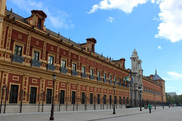 Palacio de San Telmo, sede de la Junta de Andalucía