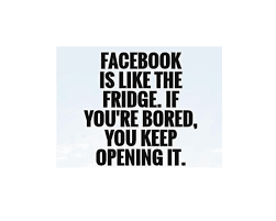 does Facebook bore you?