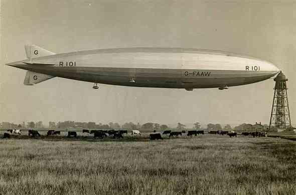 R101-crash-كارثة-المنطاد-ار-101