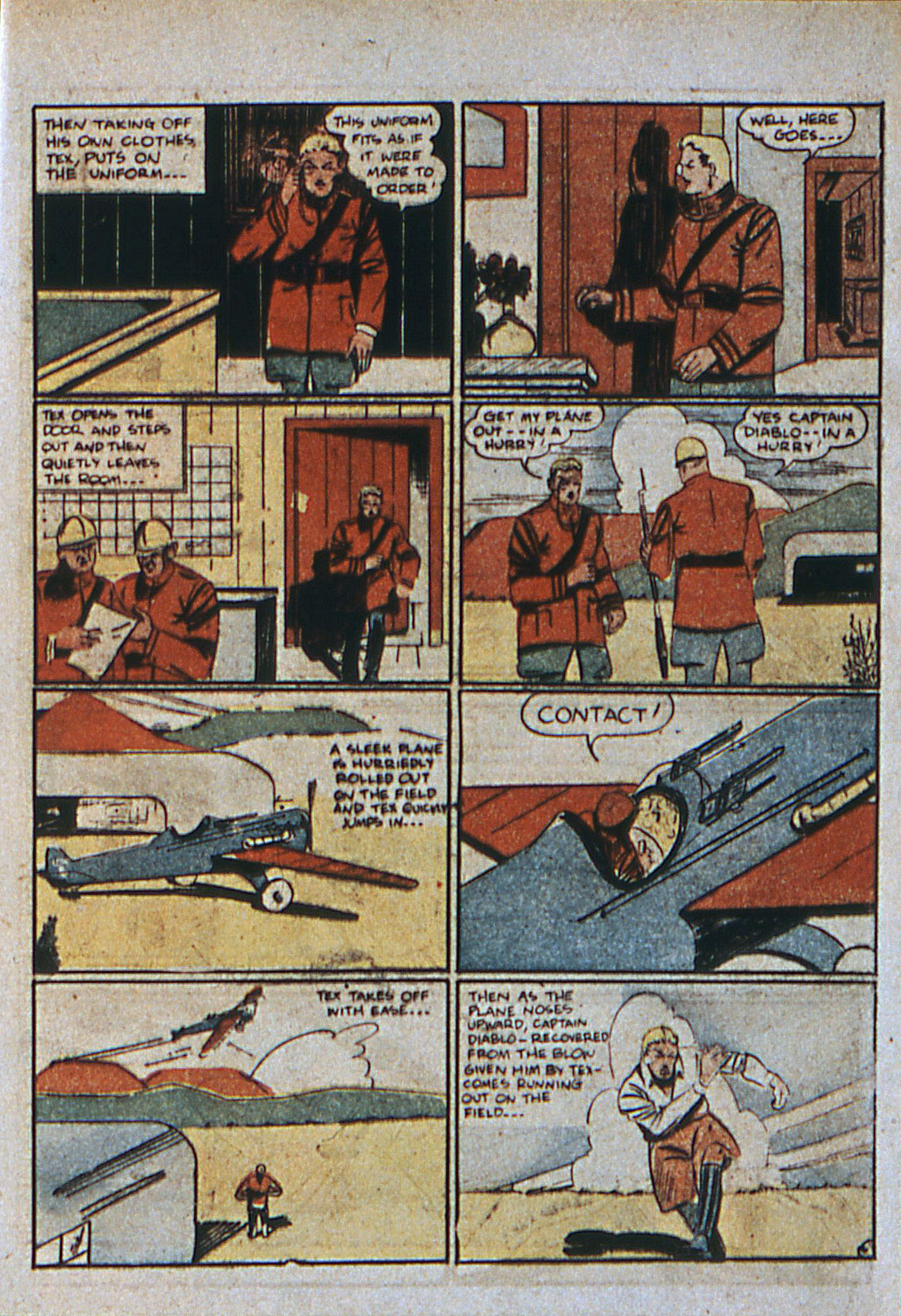 Read online Action Comics (1938) comic -  Issue #6 - 41
