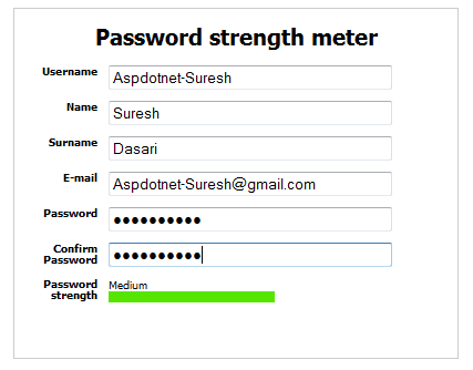 Best jquery password strength plugin Examples to show