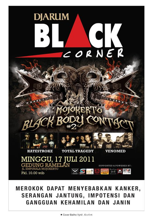 Flayer Black Body Contact #2 - July 17th 2011