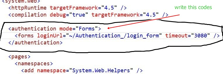 Simple Form Based Authentication in ASP NET MVC Application | MY NET