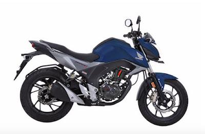 Honda CB Hornet 160R blue color