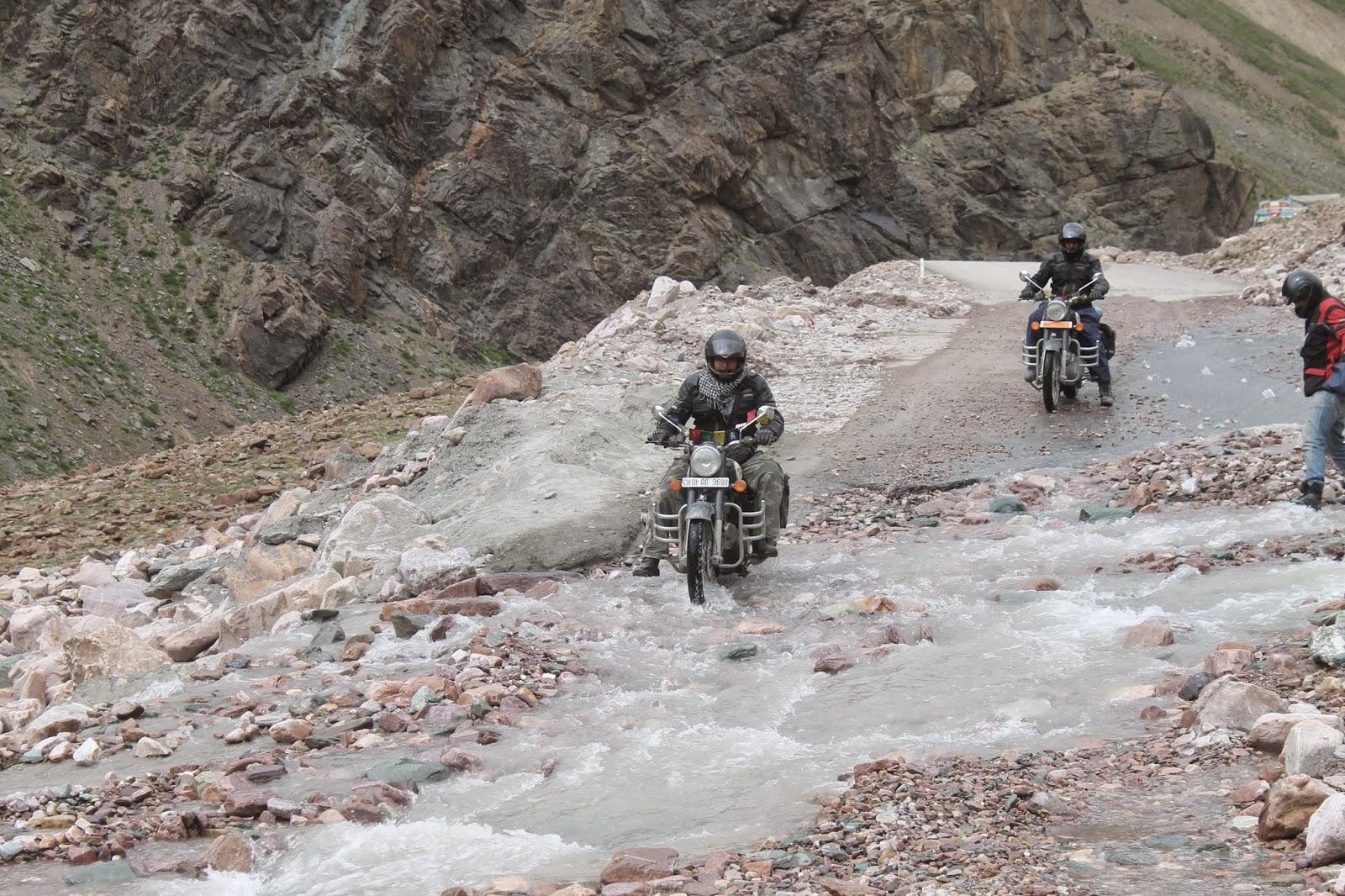 Solo biking Ladakh