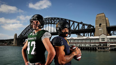 NCAAF: Hawaii, California Kick Off NCAAF Season in Australia