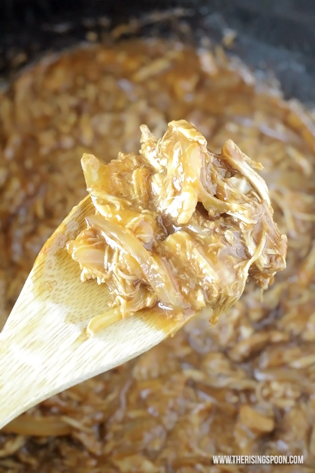 3-Ingredient Slow Cooker BBQ Chicken Recipe