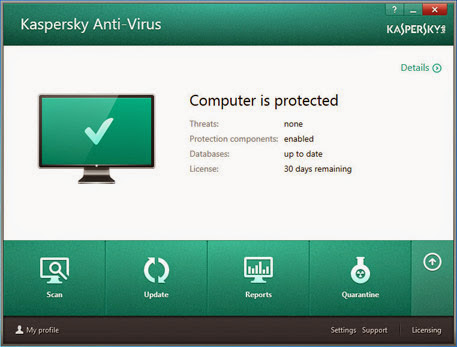 Kaspersky Anti-Virus 2015 ~ Tech Key