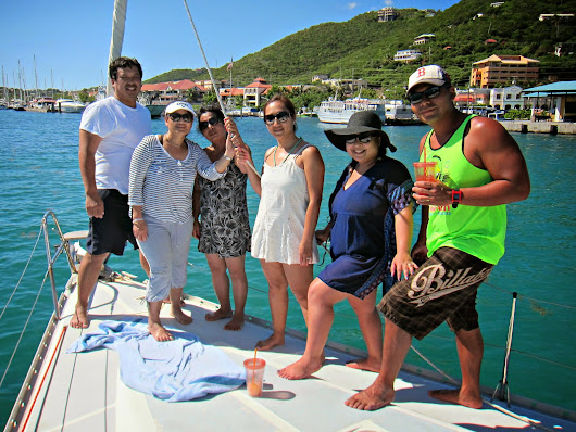 Rumbaba Sailboat charter in St. Thomas