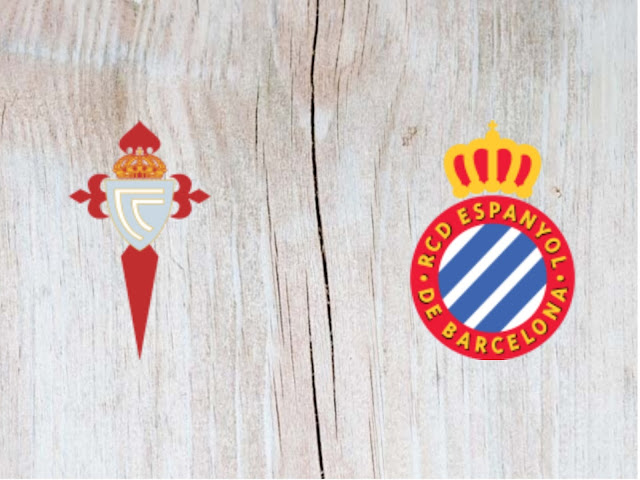 Watch Celta de Vigo vs Espanyol -Highlights - 18 August 2018