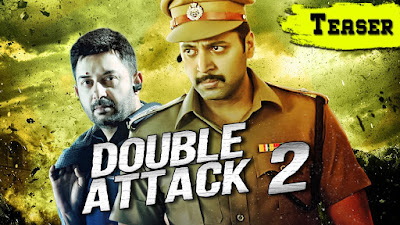 Poster Of Double Attack 2 In Hindi Dubbed 300MB Compressed Small Size Pc Movie Free Download Only At worldfree4u.com
