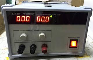 Darmatek Jual ATTEN KPS-3030DA 30V, 30A Switching Power Supply