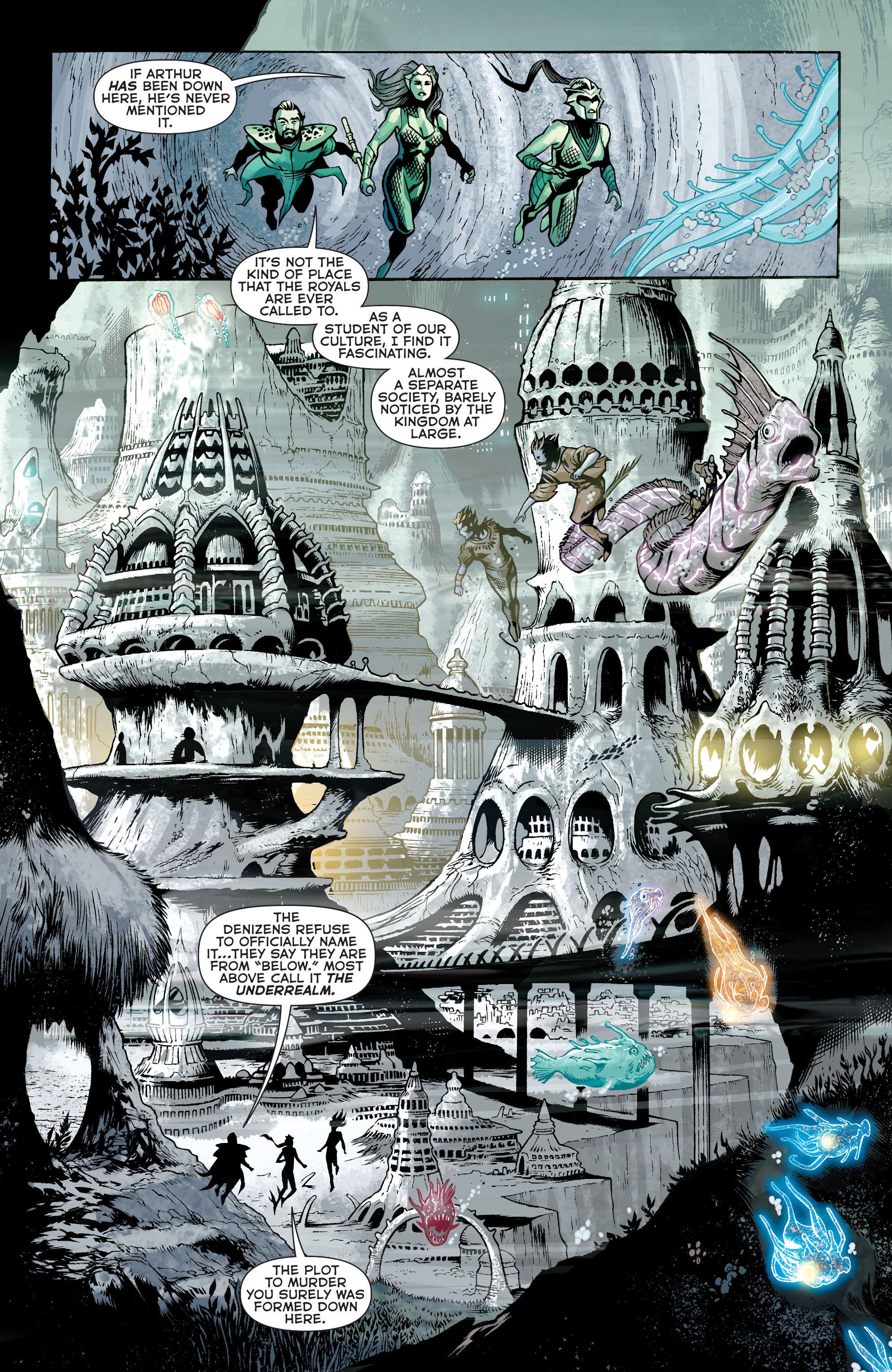 Read online Aquaman (2011) comic -  Issue #31 - 11
