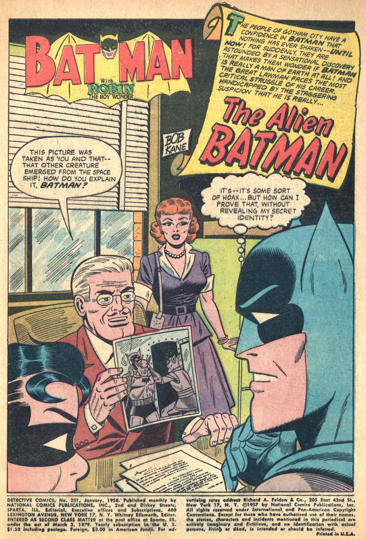 Detective Comics (1937) 251 Page 2