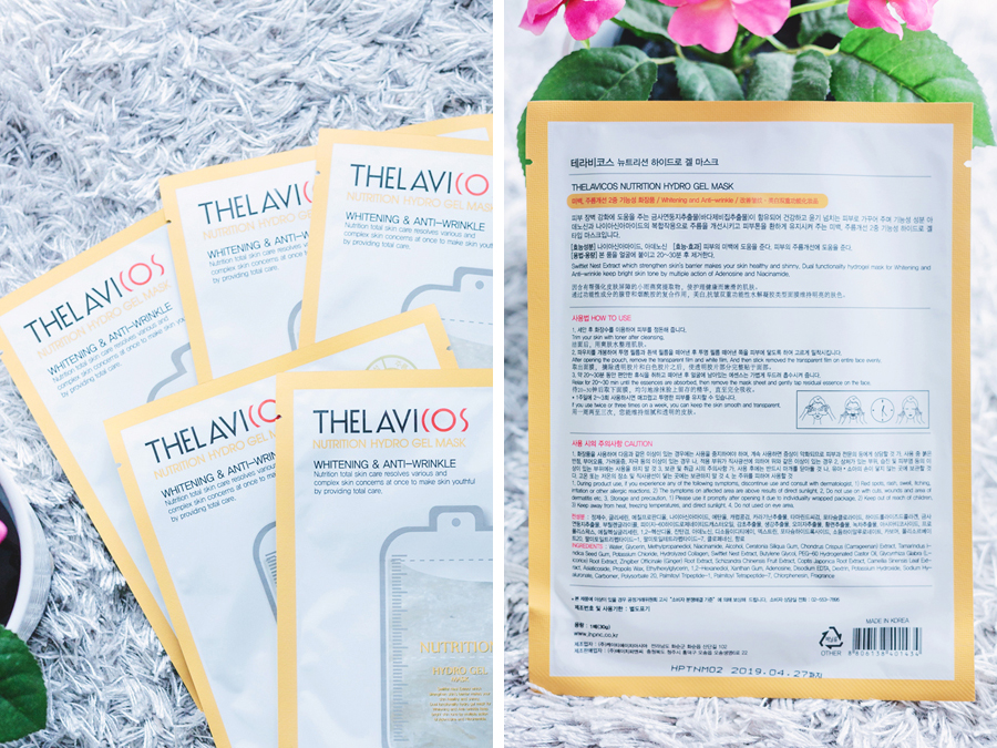 Thelavicos Nutrition Hydro Gel Mask | chainyan.co