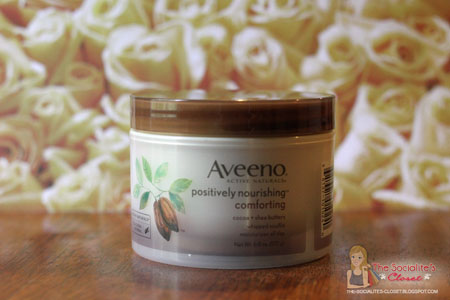 Aveeno Positively Nourishing Comforting Whipped Soufflé
