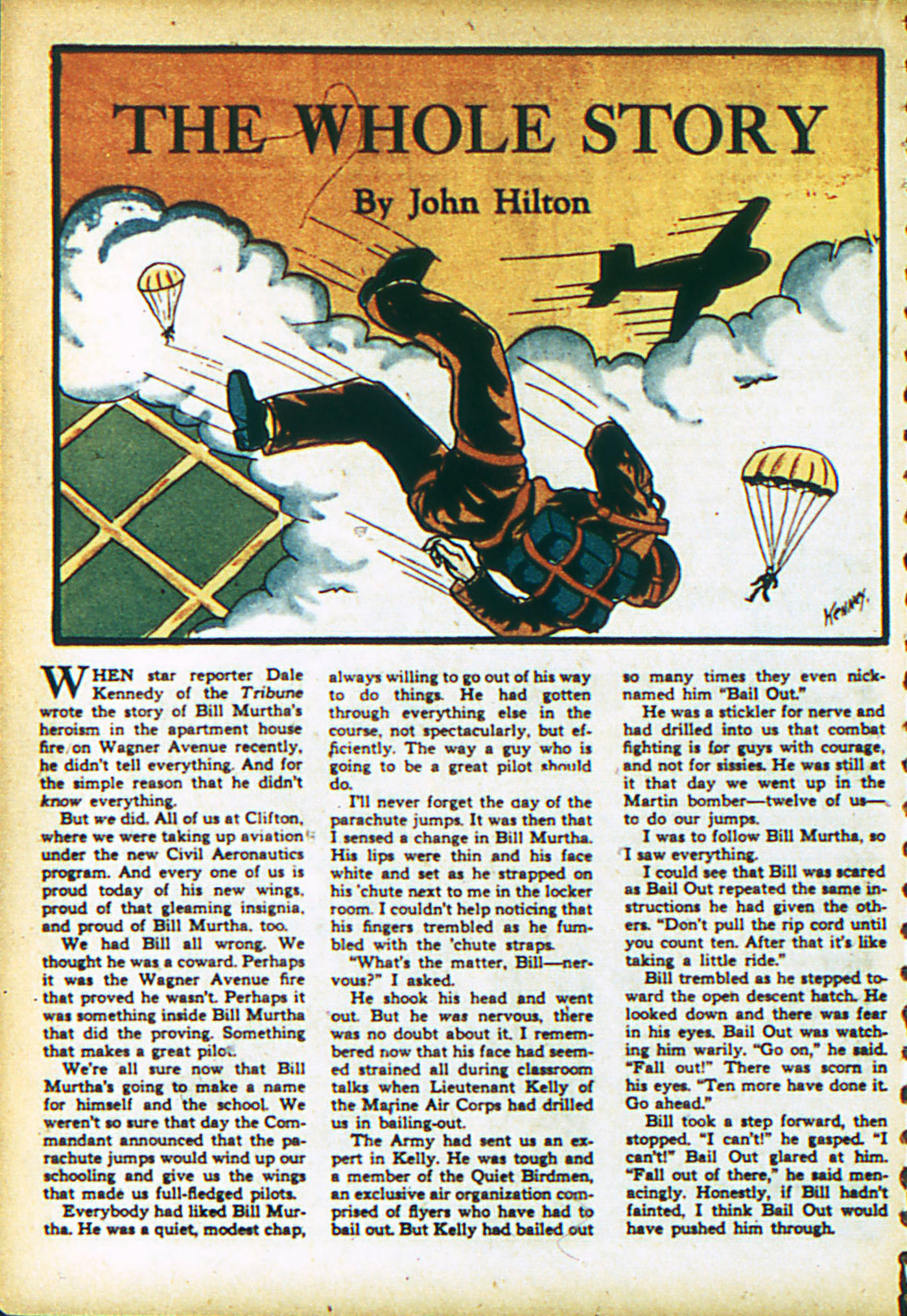 Read online Action Comics (1938) comic -  Issue #28 - 29