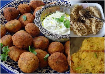Falafel & Tzatziki dip