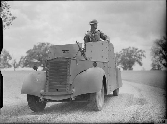 25 July 1940 worldwartwo.filminspector.com Beaverette reconnaissance car