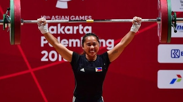 Hidilyn Diaz And Ph S First Gold In Asian Games Elinkterest