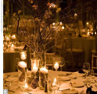 Beautiful Winter Wedding Decoration