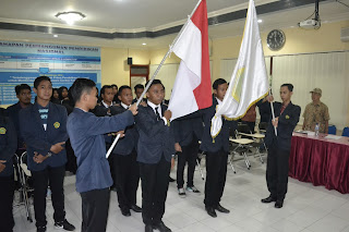 Kepengurusan SEMA STKIP PGRI Nganjuk Periode 2017-2018 resmi dilantik