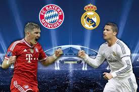 Bayern Munich vs Real Madrid