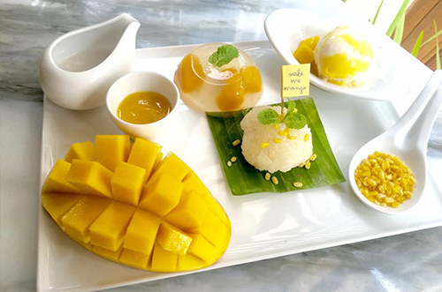 คาเฟ่โฮมเมดแนวใหม่ เอาใจคนรักมะม่วง Make me mango