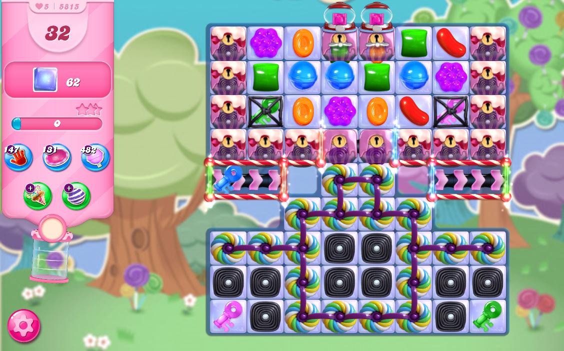 Candy Crush Saga level 5815