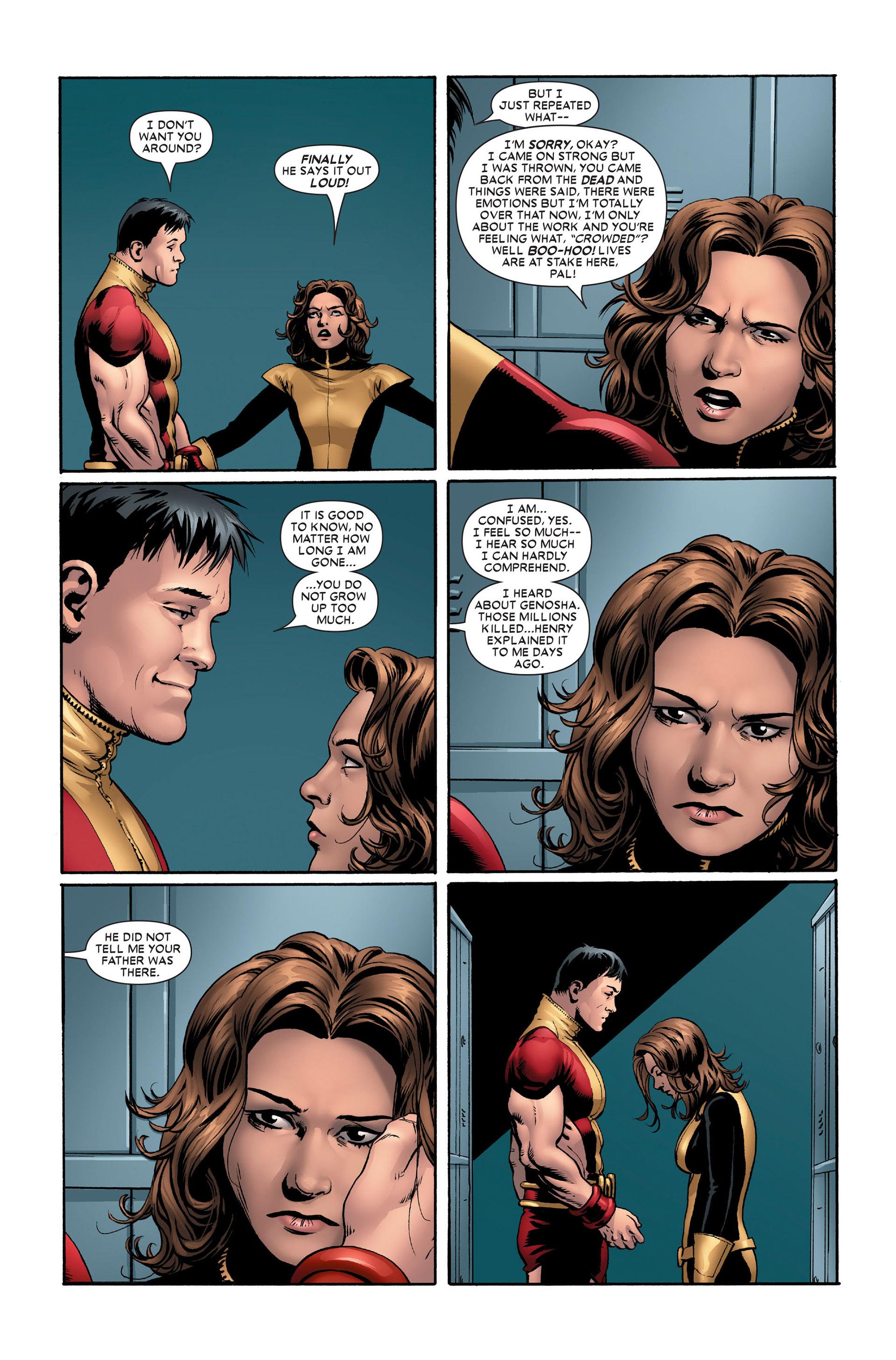 Read online Astonishing X-Men (2004) comic -  Issue #11 - 15