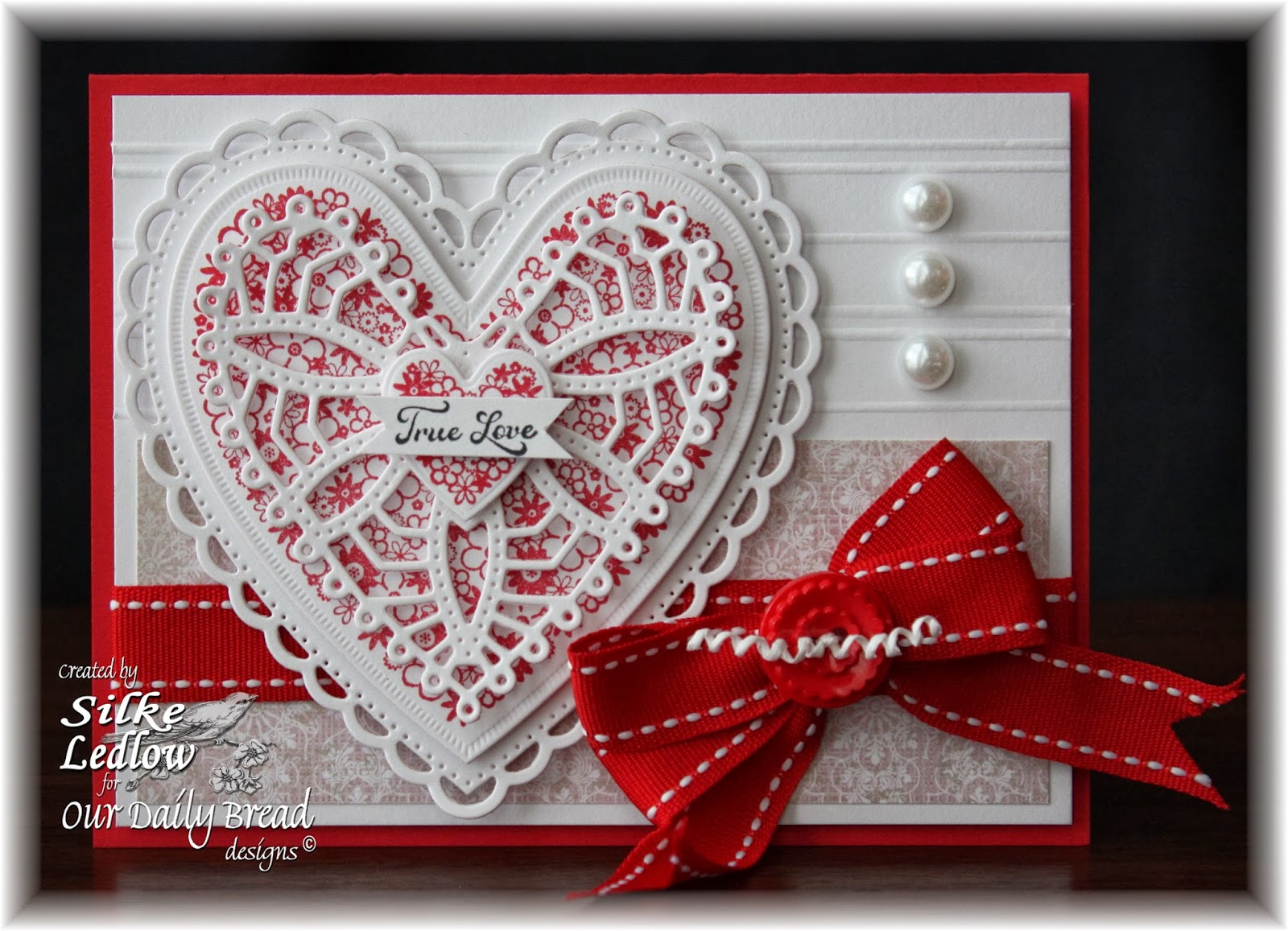 Stamps - Our Daily Bread Designs Clean Heart, ODBD Heart and Soul Paper Collection, ODBD Custom Ornate Hearts Die